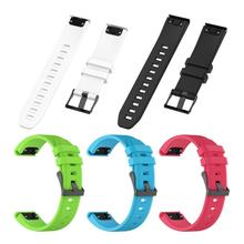 22MM Quick Release Silicone Strap For GARMIN MARQ-Athlete Texture Soft