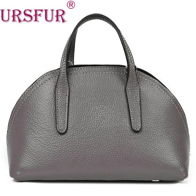 c2163fd9e0bc URSFUR New Fashion Women Shoulder Bag Vintage Winter Woman Handbag Lovely  Shell Messenger Bag Crossbody Bag For Women