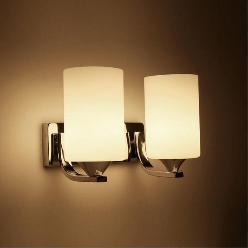 Утюг плакировкой стекло настенный светильник гостиничный номер спальня ночники проход коридор светодиодные светильник светодиодный наст...