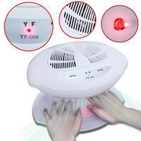 Beau Gel Smart Nail Polish Dryer Nail Air Dryer Fan Auto Induction Warm & Cool Wind Auto Sensors Nail Art Manicure Tool