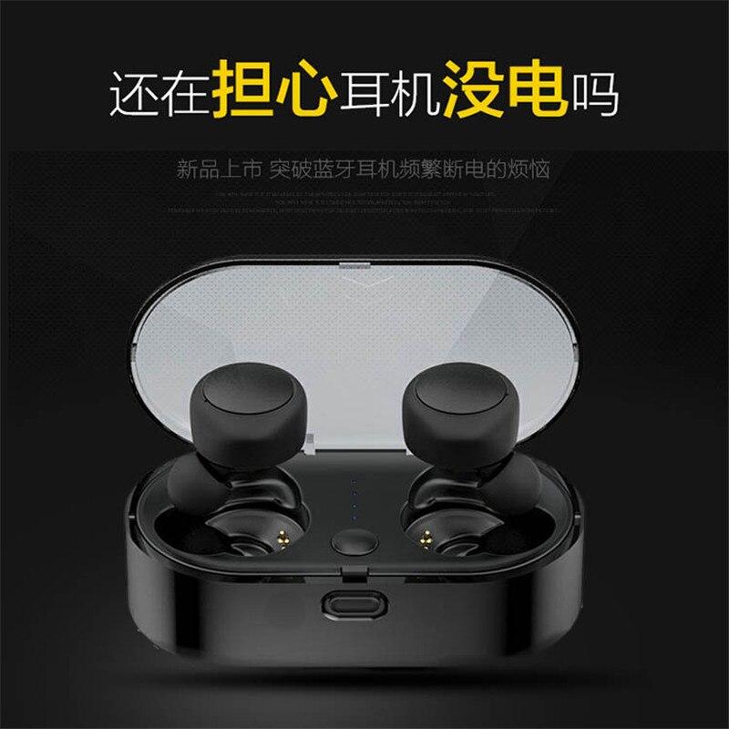 TWS ERL Mini True Wireless Bluetooth Headset In ear Dual ear Touch Bluetooth  5.0 Sports Waterproof Wireless Headset HIFI HD Call-in Bluetooth Earphones  ... a4ccb72ec1