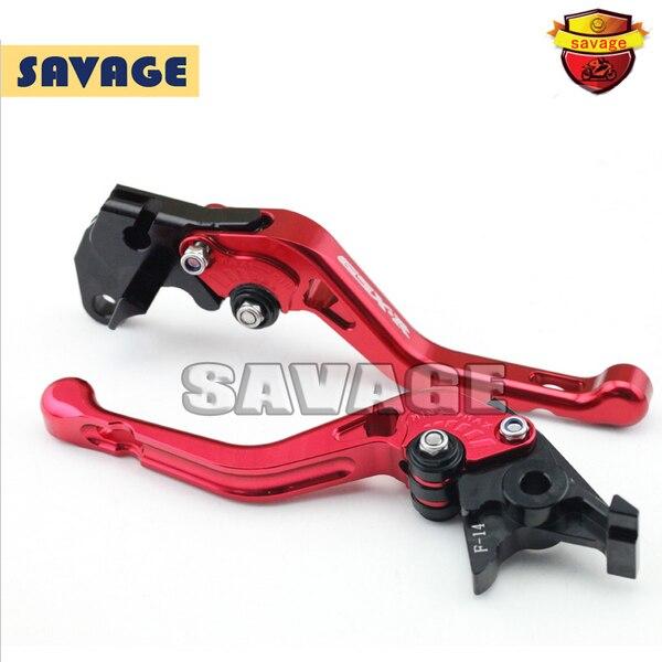 ФОТО For SUZUKI GSX-R 600/750 97-03, GSX-R1000 01-04 Red Motorcycle CNC Billet Aluminum Short Brake Clutch Levers logo GSX-R