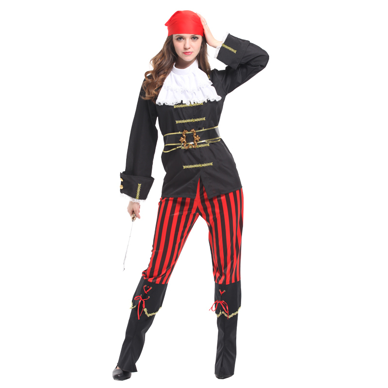 christmas cosplay anime halloween costumes for women pirat fancy dress pirate woman sexy adult Party caribbean carnival costume