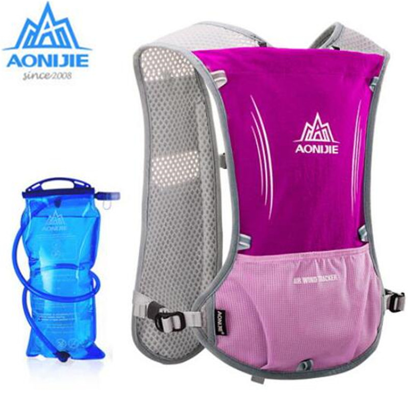 AONIJIE Lightweight Men Women Outdoor 1 5L Running Hydration Water Backpack Hydration Backpack Camping Running Water
