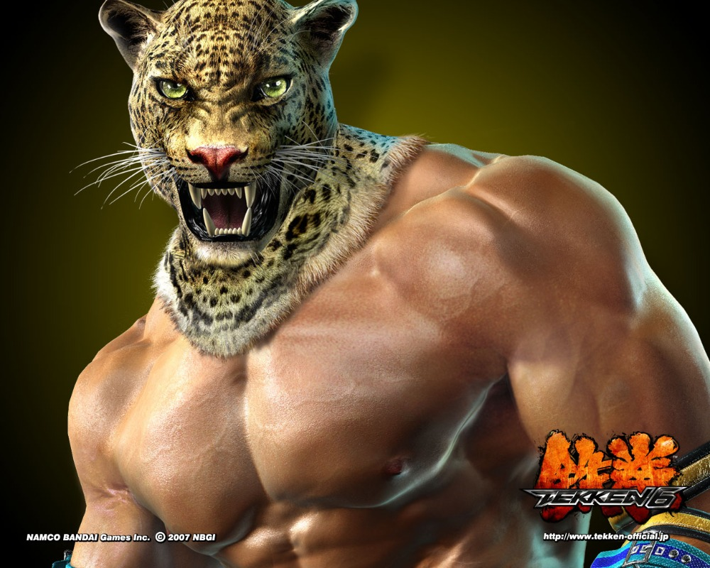 Free shipping,King Tekken 6 Game,Poster HD HOME WALL Decor Custom