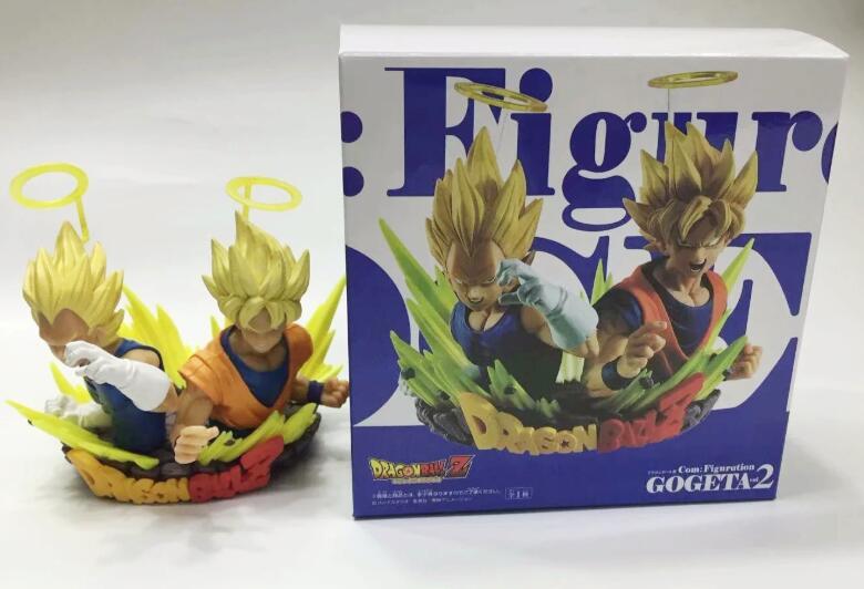 Dragon Ball Z Com Figuration GOGETA Vol2 Goku Super Saiyan Vegeta Figure Boxed