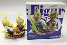 Dragon Ball Z Com: Figuration GOGETA Vol.2 Collection Figure – Super Saiyan Son Goku & Vegeta bust Statue Figure Model Toys