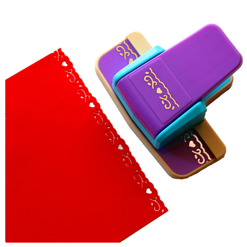 Free Ship New Arrival Fancy Border Punch Hot Selling Foam Paper Embossing Punch Scrapbook Edge Punch Scrapbook For Paper Cut