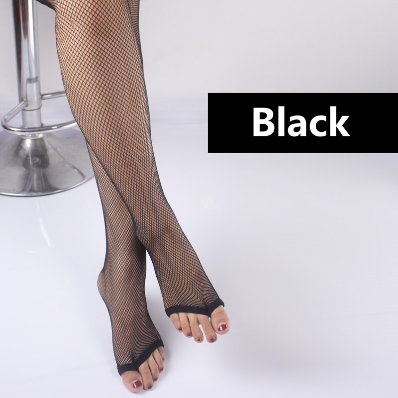 Pitping Professional Latin Dance Pantyhose Stockings Socks Fishnet Seamless Tights Dancing Race