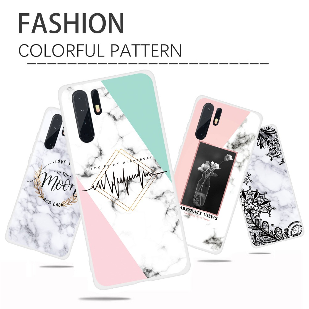 Case For Huawei P30 Pro P20 Lite P10 P Smart 2019 Marble Soft Silicone TPU Phone Cases For Huawei P30 P20 Pro PSmart 2019 Cover  (16)