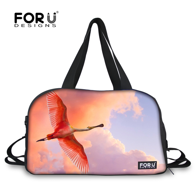 2c3fcc8a4e FORUDESIGNS 2018 New Arrival Sport Bag Athletic Handbag for Women Girls  Training Yoga Independent Shoes Storage