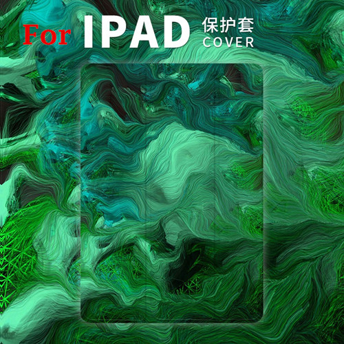Oil Painting Magnet PU Leather Case Flip Cover For iPad Pro 9.7 10.5 Air Air2 Mini 1 2 3 4 Tablet Case For New ipad 9.7 2017 iarts aha072962 hand painted thick texture of knife painting trees oil painting red 60 x 40cm
