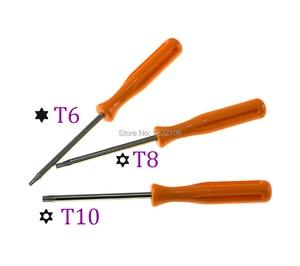 Image 2 - בקר אלחוטי דק פירוק ChengChengDianWan T6 T8 T10 מברג כלי DIY נהג Torx עבור PS3 XBOX360 XBOXONE 50 יחידות