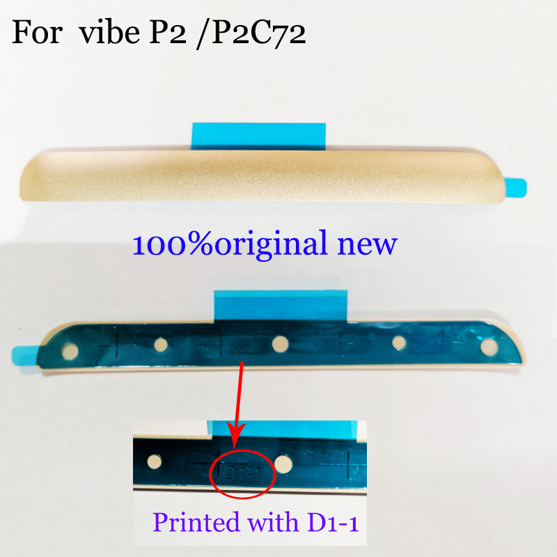 100%original new For Lenovo vibe P2 P2C72 New Rear Back Door Cover Lower Bottom bracket For Lenovo P2 P2C72 Replacement Parts