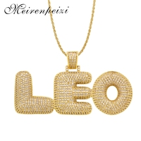 Hip hop pendant necklace English letter custom any combination of accessories simple personality new