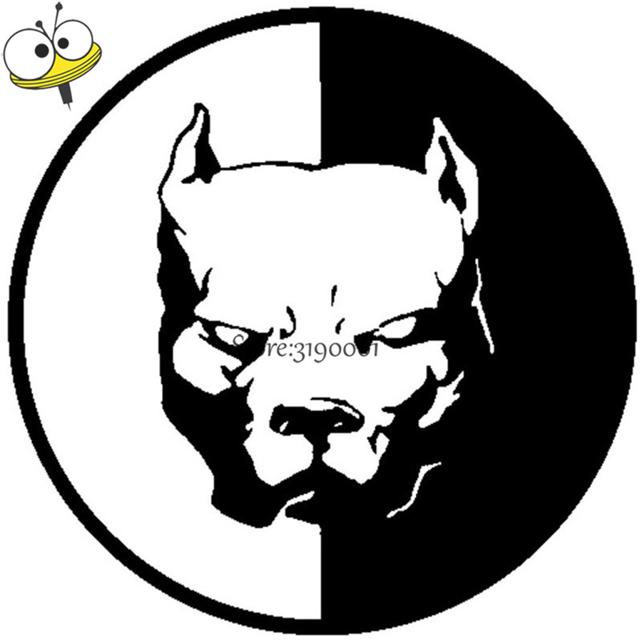 12 12CM PITBULL SUPER HERO DOG Decal Personalized Bulldog Stickers For BMW Abarth Toyota font b