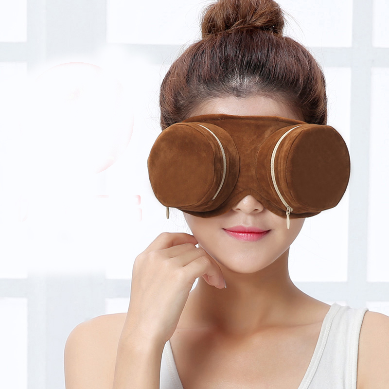 Eye massager portable copper boxes non-smoking cervical knee moxibustion massage with 54 moxa 2 pcs far infrared moxibustion heat moxibustion paste non smoking moxibustion moxa moxa leaf stickers