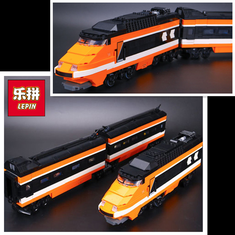 In-Stock New Lepin 21007 1351Pcs Out of print, the sky train Model Building Kits Blocks Bricks Toys Compatible With 10233
