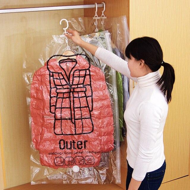 1 pc Abbigliamento Vuoto Borse contenitore Pieghevole Risparmiatore Dello Spazio