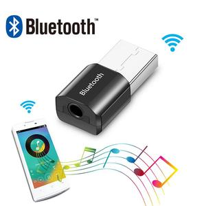 Image 2 - بلوتوث صغير الصوت AUX سيارة استقبال محول 3.5 مللي متر اللاسلكية سماعات محمولة الموسيقى مستقبلات USB للمتكلم سماعة استقبال