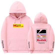 Sudadera con capucha para hombre y mujer, ropa de calle de marca de moda para otoño e invierno, sudaderas con capucha de estilo Hip Hop Kodak, novedad de 2019