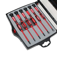 Free Shipping!Brand Proskit SD 9805 6Pcs Insulated Precision Screwdriver Set, Driver Kit, Screwdriver Set