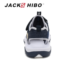 Image 5 - JACKSHIBO Kid Sandals Summer Cut outs Sandals Beach Close Toe Sandals for Child Water Shoes Anti skid New Design for Children