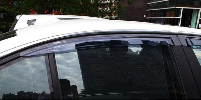 2011-2015 Janela Visor Defletor Sun Guarda Chuva Escudo Para BMW série 5 F10