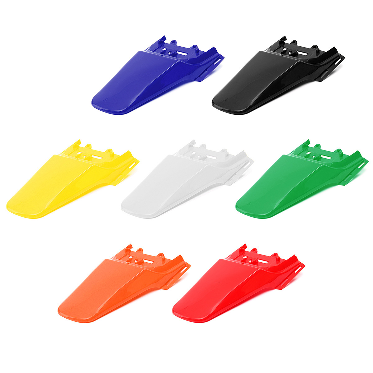 Motorcycle Plastic Mudguard Cover For HONDA CRF50 XR50 Dirt Pit Bike Rear for Fender Red Blue Black White Green Orange Yellow