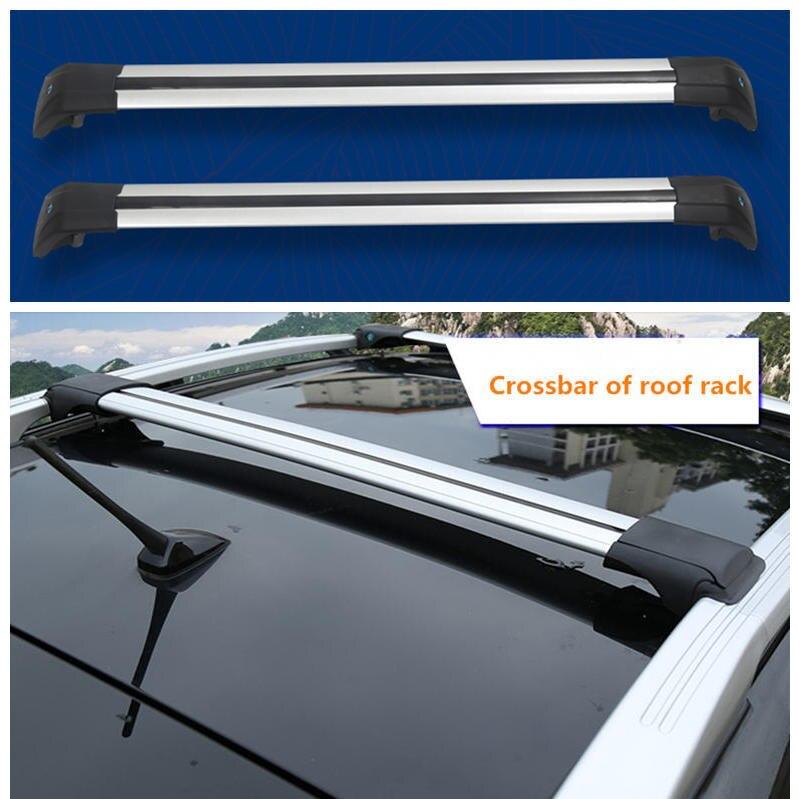 Pour Geely Emgrand X7 EmgrarandX7 EX7 SUV, barre transversale de galerie de toit de voiture