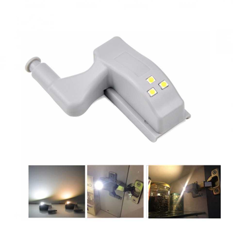 3/7 светодиодов шарнир шкафа светодиодный датчик света luz armario шкаф лампа для шкафа ночник Шкаф Дверь лампа кухня освещение