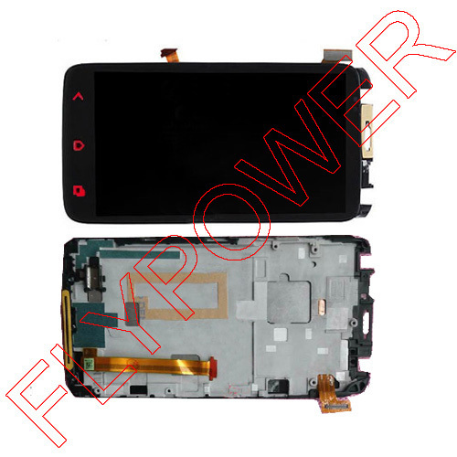 ФОТО LCD screen For HTC one X+ plus s728e with Touch display Digitizer with frame Assembly replacement by free DHL;10PCS/LOT
