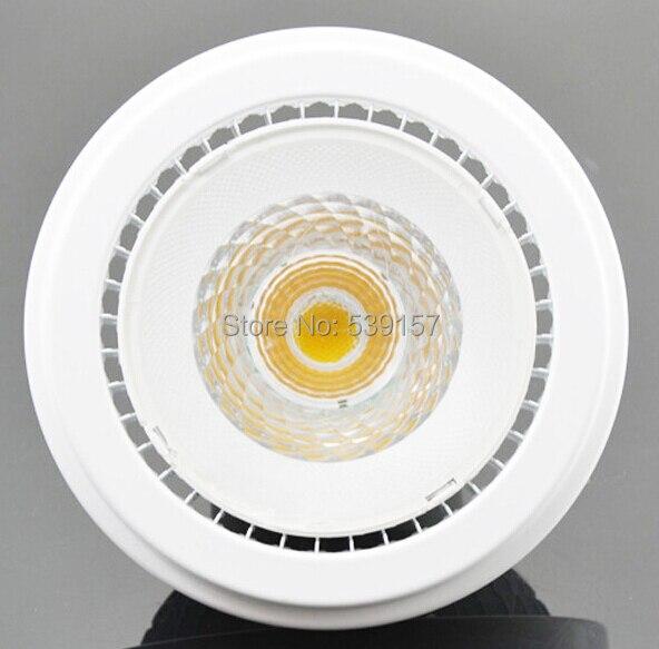Free shipping  AR111 G53 15W Warm White/Cold White COB Led Spot Lamp Ceiling LED Down Light Bulb 85-265V/DV12V wbr 0007 cob 680 750lm 7w 85 265v rotatable led warm white ceiling down light cold forging aluminum