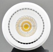 Free shipping AR111 G53 15W Warm White/Cold White COB Led Spot Lamp Ceiling LED Down Light Bulb 85-265V/DV12V