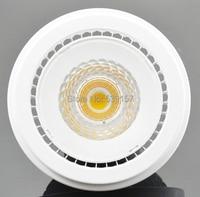 Livraison gratuite AR111 G53 15 W Blanc Chaud/Froid Blanc COB Led Spot Lampe Plafond LED Down Light Bulb 85-265 V/DV12V