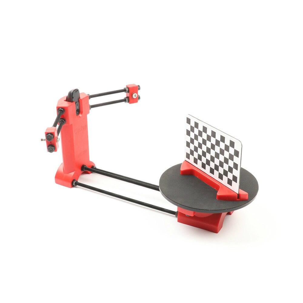 HE3D Open source FAI DA TE 3d scanner kit per 3d stampante, designer e ingegnere FAI DA TE di base 3D scanner, rosso stampaggio ad iniezione di materie plastiche