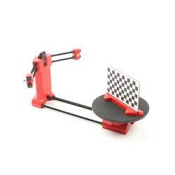 HE3D open source DIY zestaw skanera 3d do drukarki 3d  projektant i inżynier DIY podstawowy skaner 3D  czerwony wtrysk tworzyw sztucznych w Skanery 3D od Komputer i biuro na