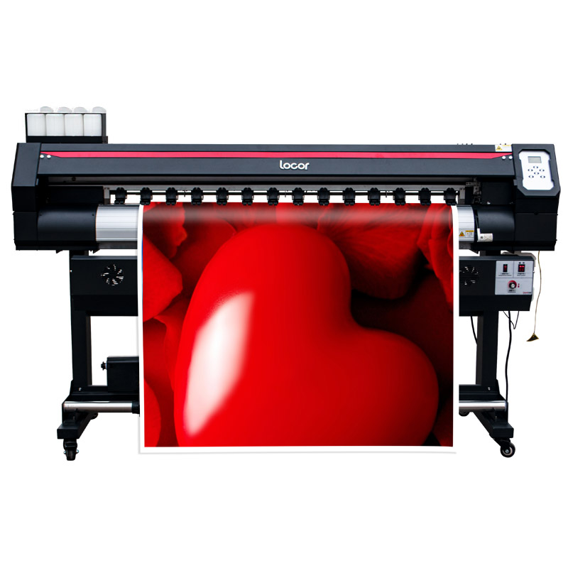 1.6M Cmyk Printer  Eco Solvent Printer 160Cm Billboard Canvas Sign Printer Wide Format Outdoor Printer 1.6M