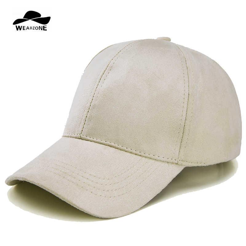 Мода 2017 г. замшевые Snapback Бейсбол кепки новый Gorras WearzoneTrucker  кепки WinterAutum Хип Хоп Плоская 5cad70640e7