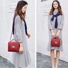 купить NOENNAME_NULL Women Faux Leather Small Handbag Satchel Messenger Cross Body Shoulder Bag Purse по цене 99 рублей