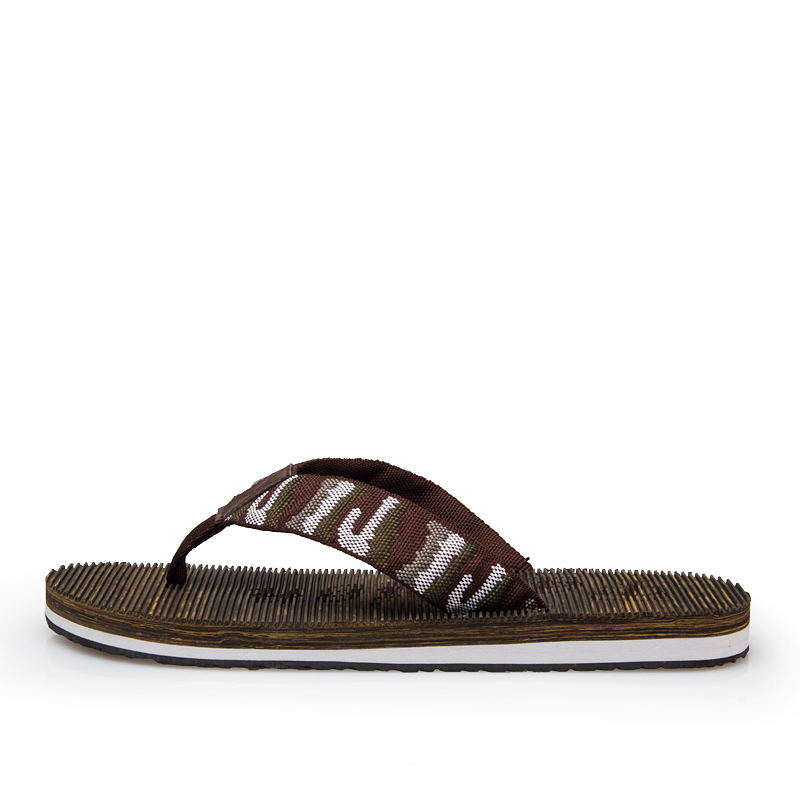 LAISUMK 2019 Summer Fashion Men 39 s Flip Flops Brand Rubber Anti slip Male Beach Slippers Outside Sandals Good Quality Men Shoes in Flip Flops from Shoes