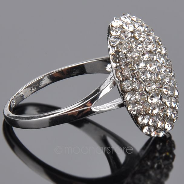 Woman Rings 1 Pcs Hot Stylish Women Lady Jewelry Vampire Twilight Bella Crystal Ring Replica Engagement Wedding In From