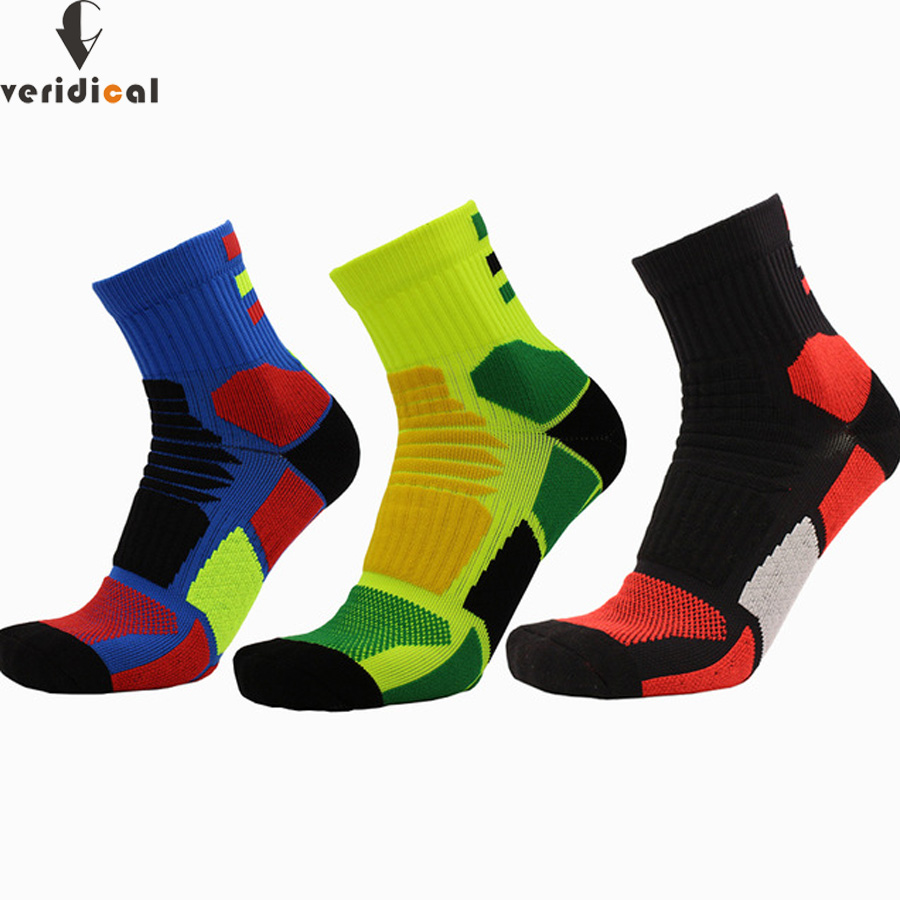 Underwear & Sleepwears Veridical Cotton Boy Men Short Compression Socks Good Quality Colorful Breathable Meias Masculino Sokken 3 Pairs/lot