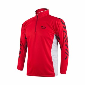 Image 3 - Professional Brand Fishing Clothes 2020 New Daiwa Fishing Shirt Breathable Quick Dry Anti UV Long Sleeve Fishing Clothing