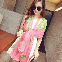 Big 196 146cm Summer Scarves Women Long Style Moda Praia Fashion Brand Designed Trendy Warm Soft