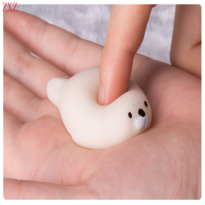 NEW Pretty Love sea dog Unpack Pinching Squeeze Seal Decompression doll toys Anger Stress Reliever Relief Toy Novelty Funny toys