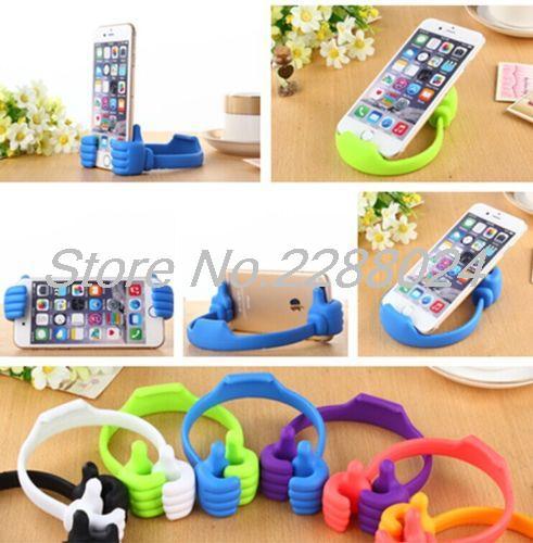 Lazy Mobile Phone Holder Bed Thumb Cell Smartphone Tablet - Ανταλλακτικά και αξεσουάρ κινητών τηλεφώνων - Φωτογραφία 6
