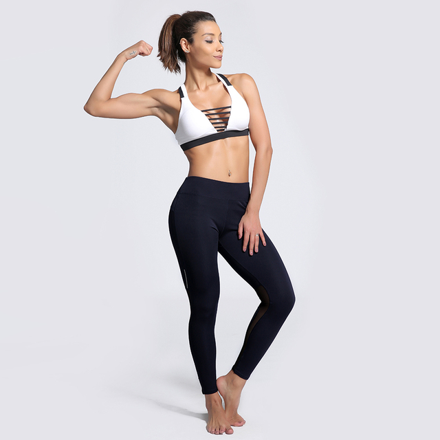 8aec7b7bc71 7 Patterns Solid Reflective Spliced Womens Black Yoga Pants S To 3xl Girls  Grey Fitness Summer Sports Leggings Big Size S To 3xL