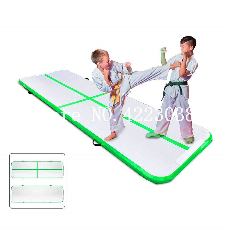 Free Shipping,Free Pump, High Quality 3x1x0.2m Inflatable Air Track Inflatable Tumble Track Gymnastics Inflatable Air Mat For Gy