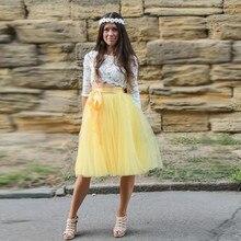 oficial mejor calificado colección completa diseño exquisito Compra yellow tulle skirt y disfruta del envío gratuito en ...